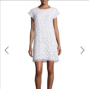 Joie Tabbetha Crocheted Cap Sleeve Mini Dress